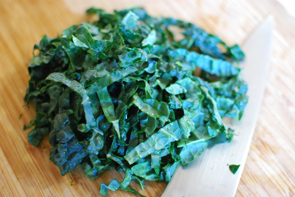 Kale ribbons