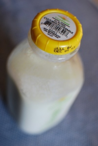 Got buttermilk? Yep. (And, yes, I risked pushing past the pull date - hey, it's already sour, right?)