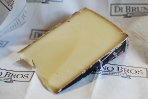 Maxx Extra: Appenzeller style, semi-firm, a little funky and a lot nutty. Perfect melter. Great call from cheesemonger Samantha at DiBruno's 9th Street.