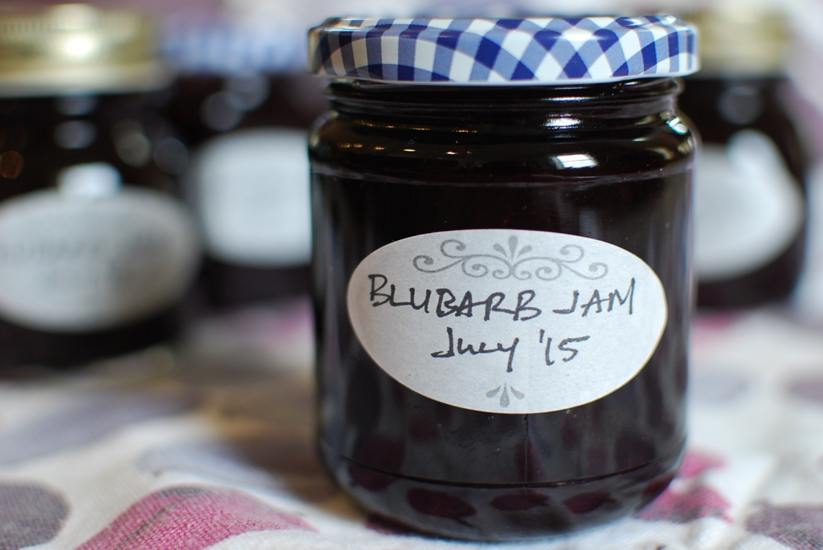 Blubarb Jam: A Sweet and Slippery Slope